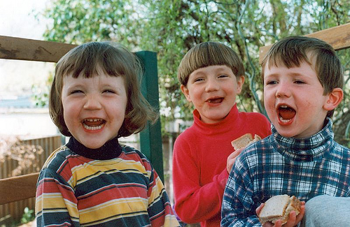 Iz, Jack & Alex (cousin)