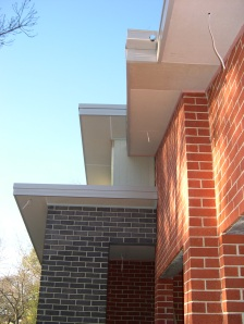 Angles from front and cleaned bricks