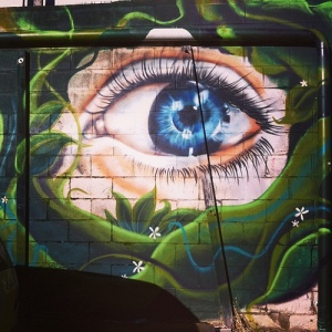 Eye with colour Behind #ainslieshops