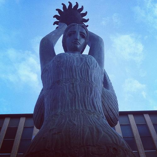 Ethos statue